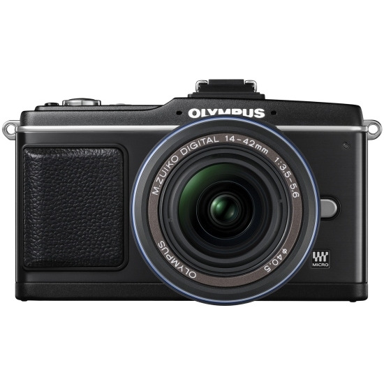 Olympus PEN E-P2 with 14-42mm lens
