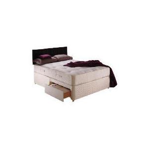 Photo of Sealy Classic Memory Supreme King 4 Drawer Divan Set Bedding