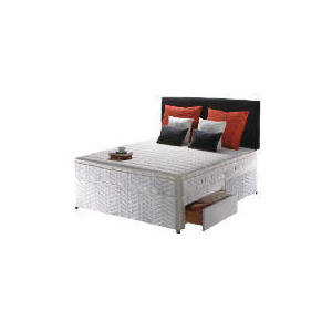 Photo of Sealy Classic Ortho Deluxe King 4 Drawer Divan Set Bedding