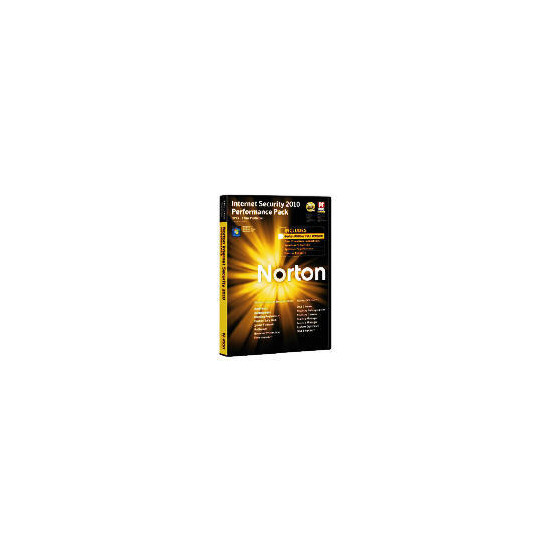 Norton Internet Security Performance Pack 3 user 2010 & Norton Utilities