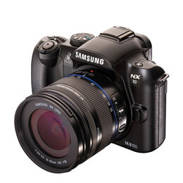 Samsung NX10 with 18-55mm lens Reviews
