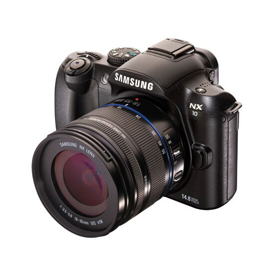 Samsung NX10 with 18-55mm lens