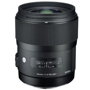 Photo of Sigma 35MM F/1.4 A DG HSM A Lens For Canon AF Lens