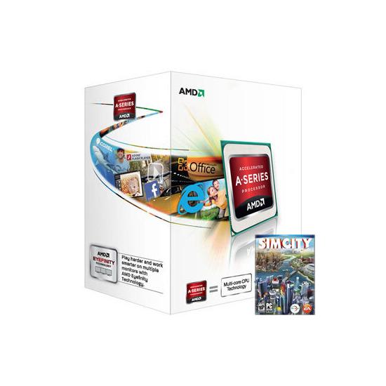 AMD A4-Series APU AD4000OKHLBOX A4-4000 with Radeon HD 7480D
