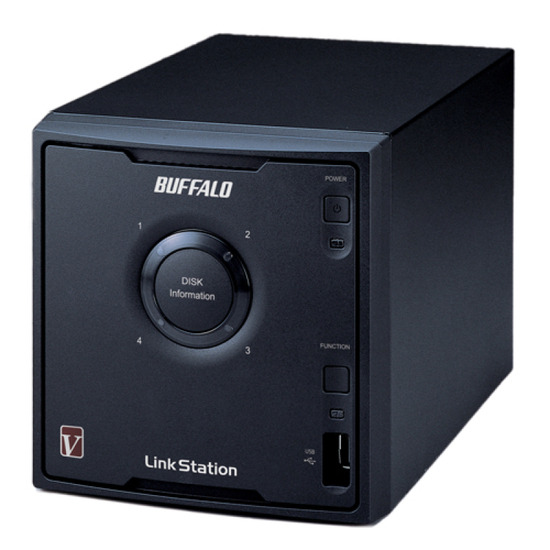Buffalo LinkStation Pro Quad 4 Bay NAS LS-QVL/E-EU