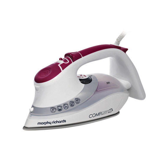 Morphy Richards 40866 Comfigrip Steam Iron - Mulberry