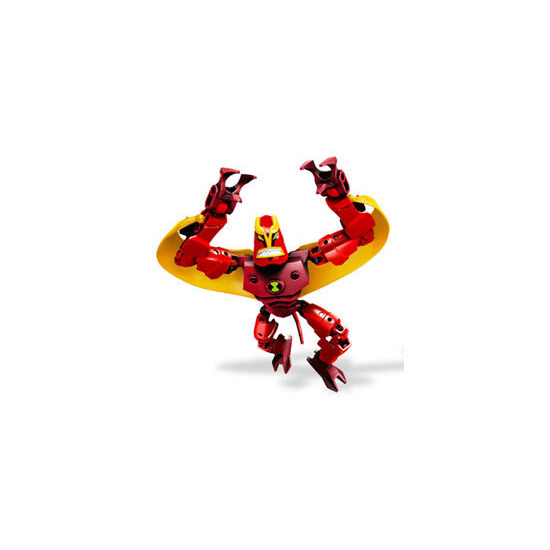 Lego Ben 10 Alien Force - Jet Ray 8518