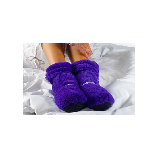 Hot Boots In Purple