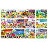 Photo of 12 Assorted Children's Puzzles Bumper Pack Toy