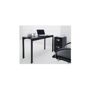 Photo of Reno Home Office Desk, Matt Black Furniture