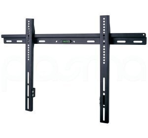 Ultimate Mounts Black Universal Low Profile Wall Mount Up