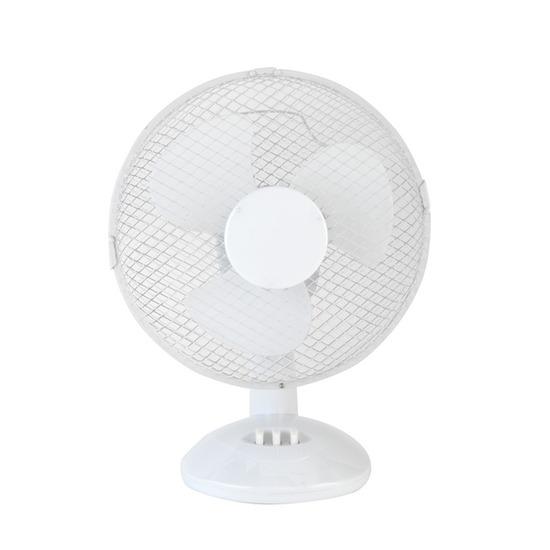 """BELDRAY EH0676 9"""" Desk Fan - White"""