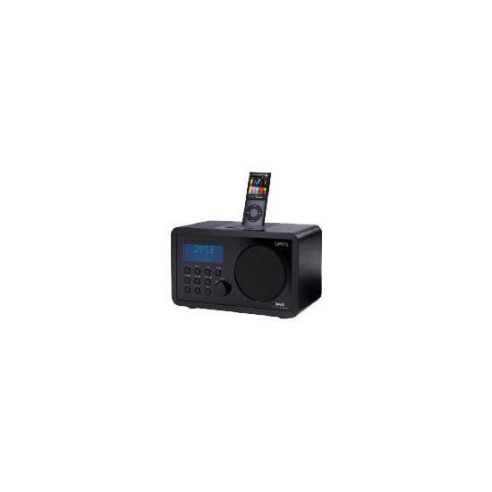 GEAR4 KRG-D50 DAB and iPod dock radio