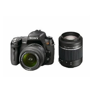 Photo of Sony Alpha DSLR-A450Y With 18-55MM and 55-200MM Lenses Digital Camera
