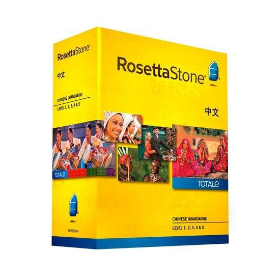 Rosetta Stone Chinese Version 4 TOTALe Level 1-5 (Mac/PC)