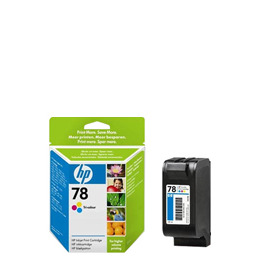 Original HP No.78 tri-colour (cyan magenta yellow) printer ink cartridge C6578AE Reviews