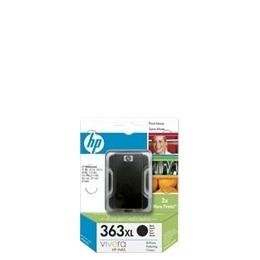 Original HP No.363XL high capacity black printer ink cartridge C8719EE Reviews