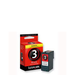 Lexmark Cartridge No. 3 - Print cartridge - 1 x black Reviews
