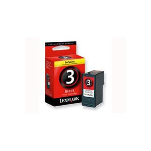 Photo of Lexmark Cartridge No. 3 - Print Cartridge - 1 X Black Printer Accessory