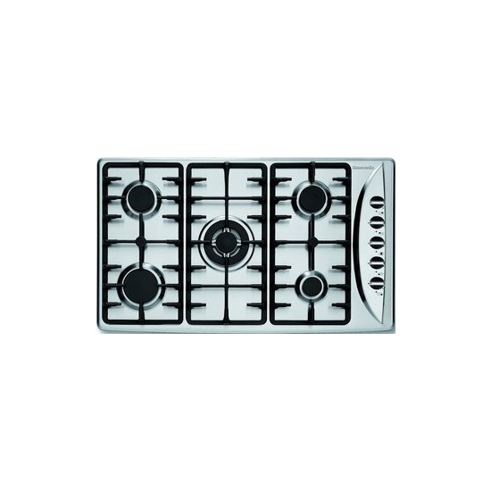 Baumatic B17.8SS Gas Hobs Stainless Steel