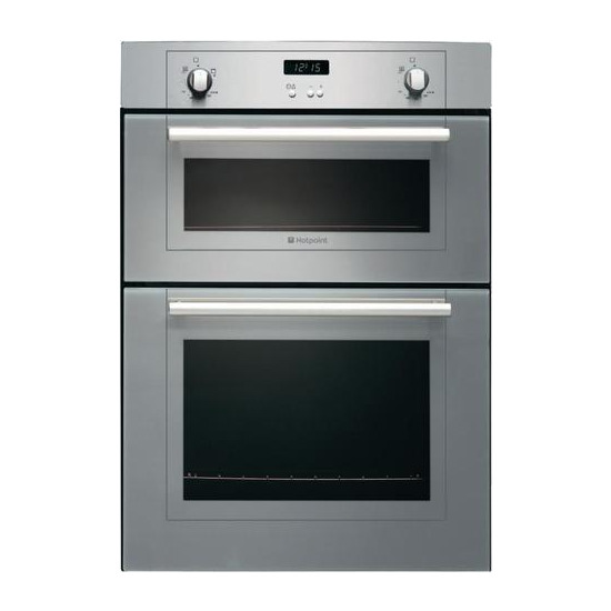 Hotpoint DY330G DY330GX Double Ovens Stainless Steel