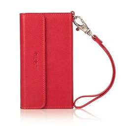 Knomo iPhone 5 Leather Folio Wristlet