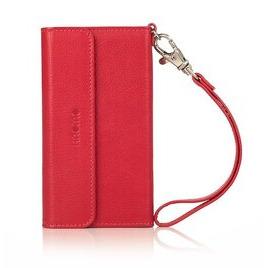 Knomo iPhone 5 Leather Folio Wristlet