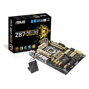 Photo of Asus Z87-DELUXE  Motherboard