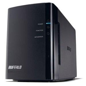 Photo of Buffalo LinkStation Duo 2TB LS-WX2.0TL/R1-EU  Data Storage