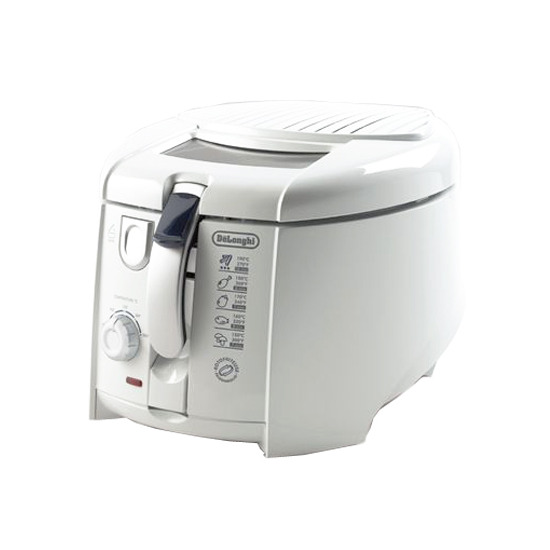 Delonghi F28211 Deep Fat Fryer White with Rotating Basket