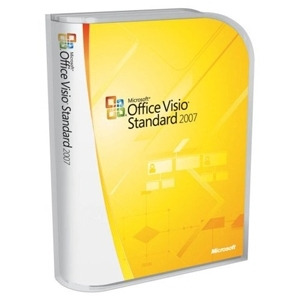 Photo of Microsoft Office Visio Standard 2007 Complete Package Software