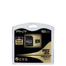 PNY Premium - Flash memory card ( microSDHC to SD adapter included ) - 16 GB - microSDHC Reviews