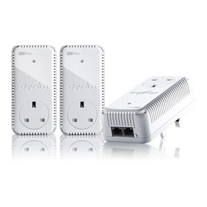 Photo of Devolo DLAN 500 Duo Plus Powerline Network Kit Network Switch