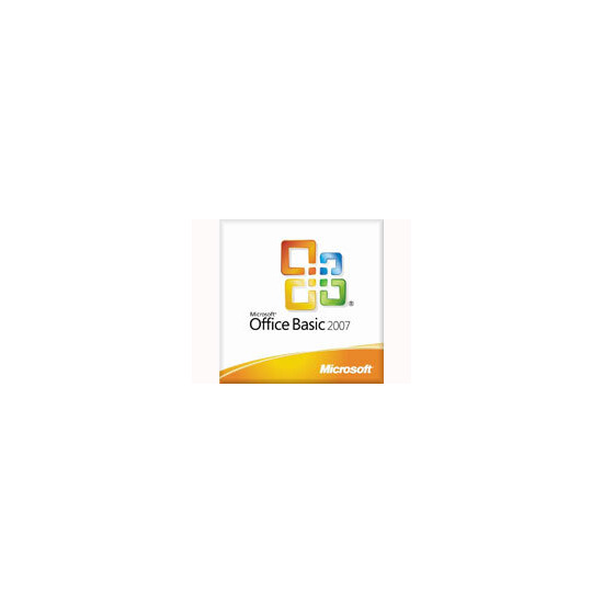 Microsoft Office 2007 Basic OEM Medialess License Key (No CD)