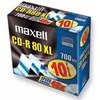 Photo of Maxell CD-R80XL - 10 X CD-R - 700 MB ( 80MIN ) 52X - Slim Jewel Case - Storage Media CD and DVD Storage