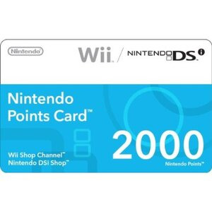 Photo of Nintendo 2000 Point Card Games Console Accessory