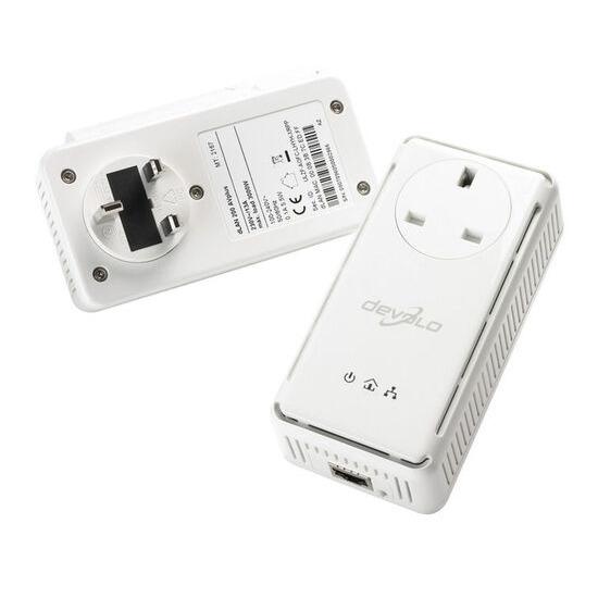 Devolo AVplus Start Kit Power Line Networking + Integrated socket