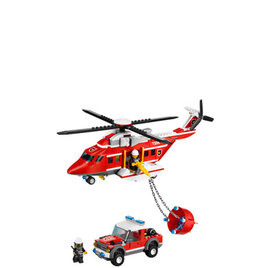Lego City - Fire Helicopter 7206 Reviews