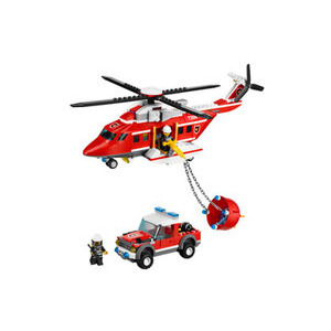 Photo of Lego City - Fire Helicopter 7206 Toy