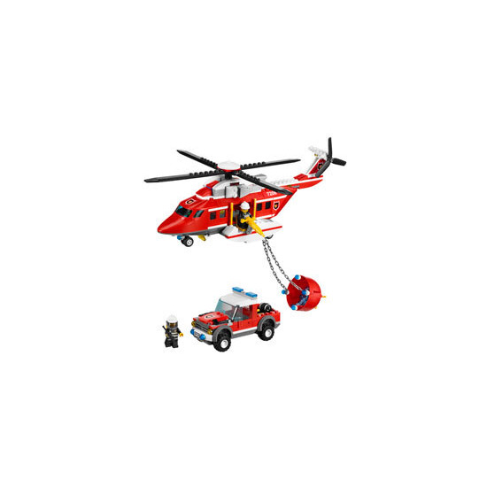 Lego City - Fire Helicopter 7206