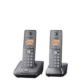 Panasonic KX-TG2712EM Cordless Phone - Twin Handsets Reviews