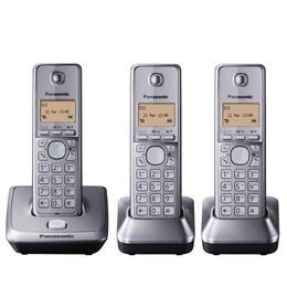 Panasonic KX-TG2713EM Cordless Phone - Triple Handsets Reviews