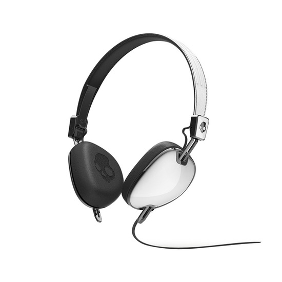 SKULLCANDY S5AVDM-074 Navigator Headphones - White & Black