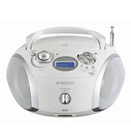 ROBERTS ZoomBox 2 Portable DAB+ Radio - White & Silver Reviews