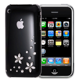 Bling My Thing Flower2 iPhone 3G/3GS