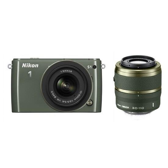 Nikon 1 S1 Mirrorless System Camera Red 11-27.5mm 10MP