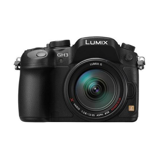 Panasonic Lumix DMC-GH3 with 12-35mm Lens