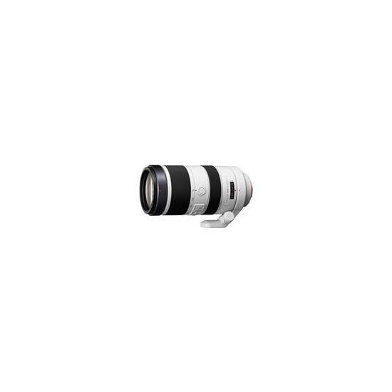 Sony Alpha 70-400mm f/4-5.6G SSM II Lens for A-Mount