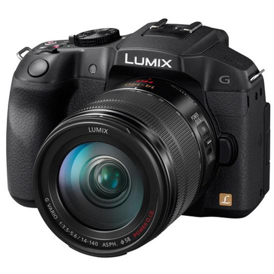 Panasonic Lumix DMC-G6 with 14-140mm lens