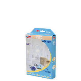 484 Interfilter Tesco VC206 Vacuum Bags 5 Pk Reviews